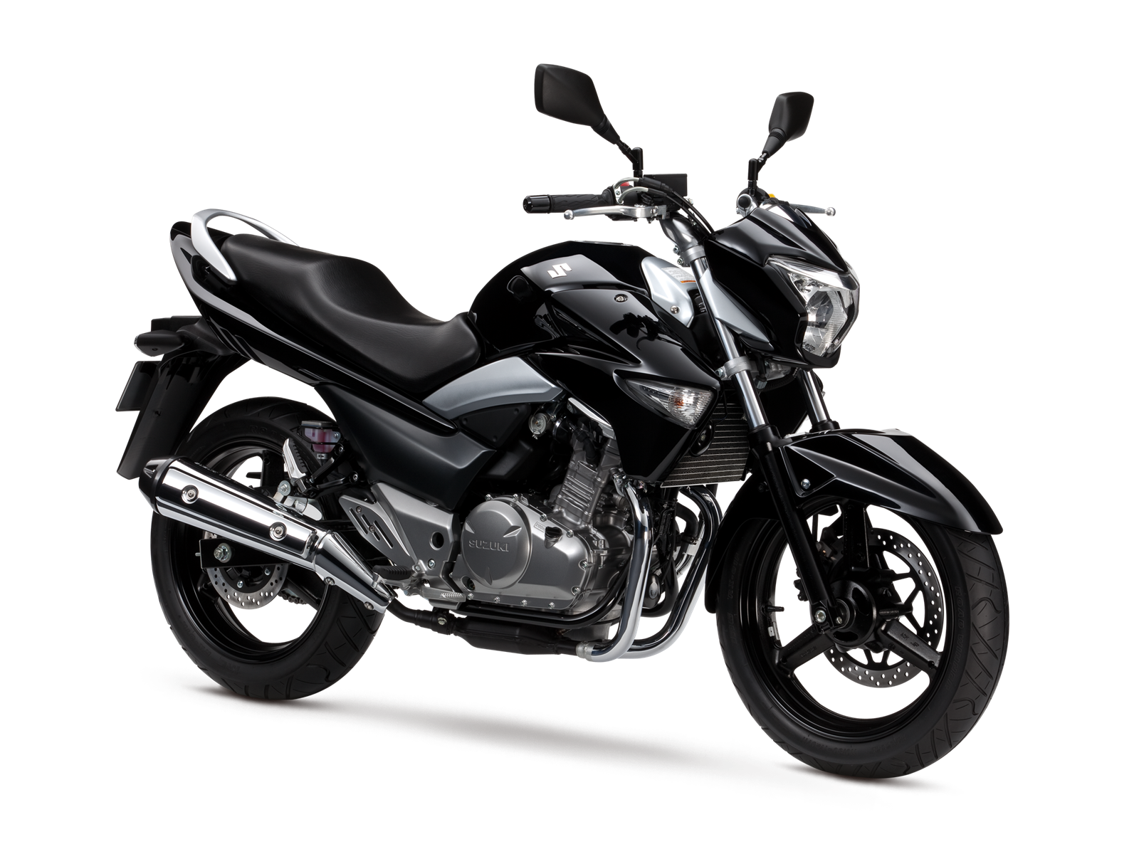 2013 Suzuki GW250 - a 250cc twin entry level standard.